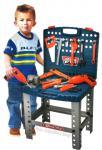 Kinder Werkbank Werkzeugbank Werkzeugkoffer mit Bohrmaschine