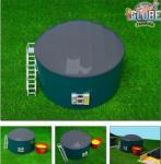 Bio Gas Installation Anlage Siku 1:32 Bauernhof