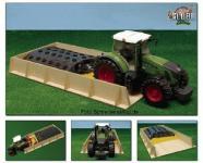 Holz Fahrsilo Bauernhof Silo für Bruder Traktor