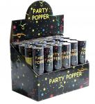2x Party Popper 20cm Konfettikanone Shooter - Konfetti Kanone im 2er Set -
