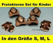 Kinder Protektoren-Set Protektorenset Inliner Grau