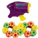 1 Konfetti Pistole mit 90 Konfetti Schuß Party Popper Munition Karneval Party