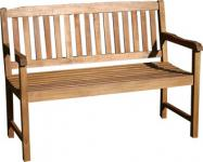"""3-Sitzer-Bank aus der Akazienholzmöbelserie """"France"""""""