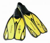 Aqua Lung Kinder Flosse Hydrostream Taucherflosse Gelb-Schwarz 28-30