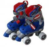 Kinder Rollschuhe Skater Größe verstellbar 34-35-36-37 (BRA)
