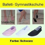 Ballettschuhe Gymnastikschuhe Turnschuhe schwarz