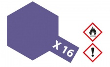 Tamiya, Acrylfarbe X-16 Violett glänzend, 23ml Tamiya 81016
