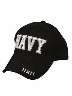 Baseball Cap Navy schwarz