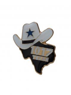 Anstecker Pin Texas Cowboy