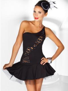 Petticoat-Kleid schwarz