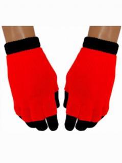 Multi Handschuhe neon rot