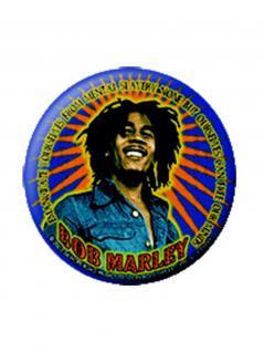 2 Button Bob Marley Comic