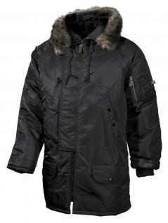Polar Winterjacke schwarz
