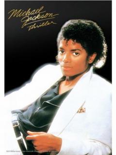 6 Michael Jackson Thriller Classic Postkarten