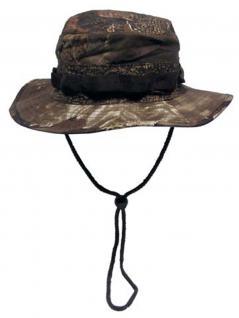 US GI Buschhut mit Kinnband hunter braun