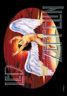 Led Zeppelin Poster Fahne Icarus