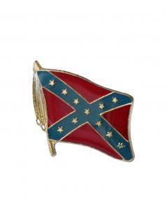 Anstecker Pin Flagge USA Süden mit Band
