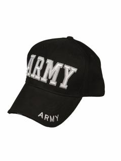 Baseball Cap Army schwarz