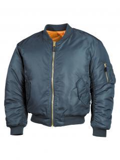Piloten Jacke blau