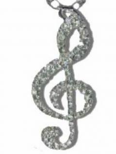 Halskette Notenschlüssel