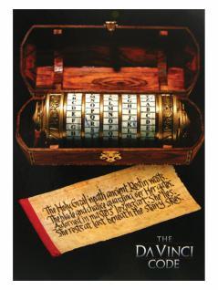 3 The Da Vinci Code Postkarten