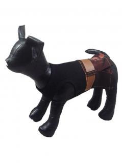 Hunde Kleid schwarz