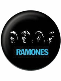 2 Button Ramones Faces