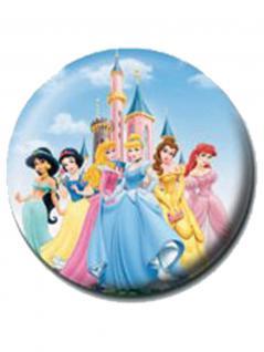 2 Button Disney Princesses