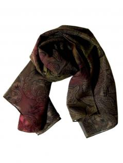 Polyester Tuch braune Textur