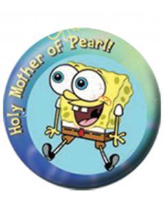 2 Button Spongebob Holy Mother