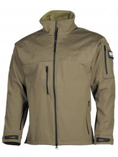 Allwetter Soft Shell Jacke beige