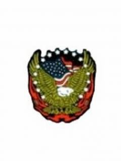 Emaille Pin U. S. Eagle