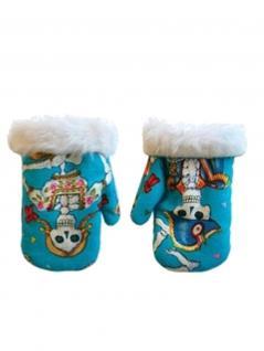 Baby Handschuhe Pirat