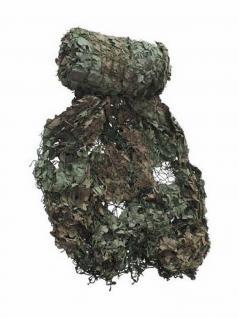 Britisches Tarnnetz 7, 5 x 7, 5 m oliv/braun neuwertig