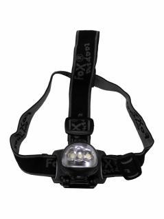 Stirnlampe 3 LED mit Dynamo