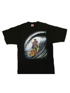 T-Shirt Skull Surfer