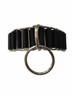 Leder Fetisch Halsband mit Ring