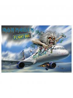 Poster Iron Maiden Flight 666