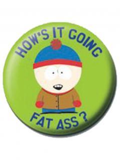 2 Button South Park grün