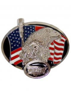 Gürtelschnalle Amerika Liberty