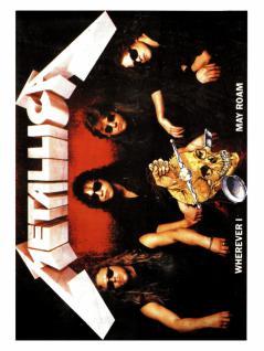 6 Metallica Wherever Postkarten