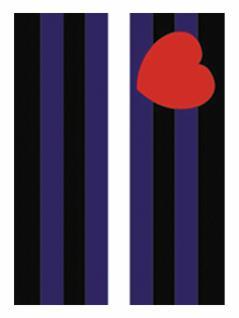 6 Leather Pride Flagge Postkarten
