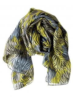 Polyester Tuch blue Tiger