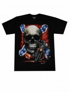 T-Shirt Skull Rebell