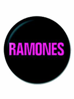 2 Button Ramones Logo