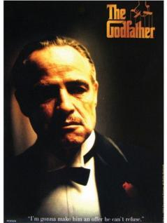 6 The Godfather Postkarten