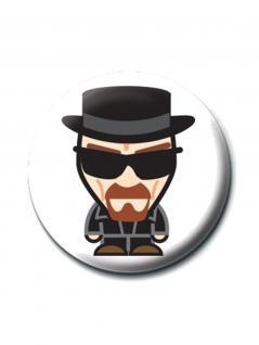 2 Button Breaking Bad Heisenberg