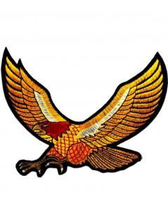 Aufnäher Fliegender Adler gelb