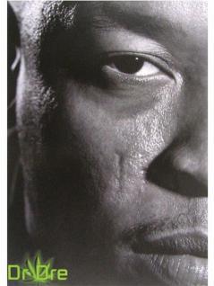 Dr Dre Postkarte