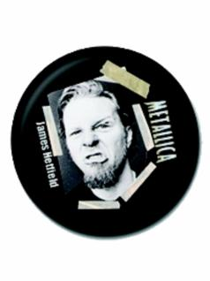 2 Button Metallica James Hetfield
